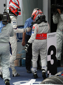 Second place Robert Kubica