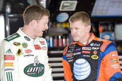 Dale Earnhardt Jr. and Jeff Burton