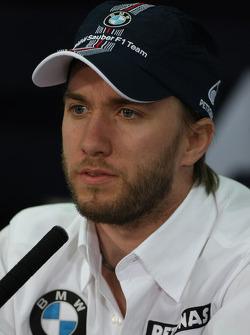 FIA press conference: Nick Heidfeld, BMW Sauber F1 Team