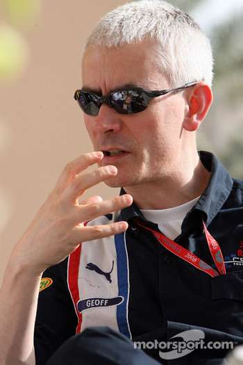 Technical director Geoffrey  Willis