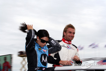 Danica Patrick and Jay Howard
