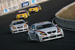 Jorg Muller, BMW Team Germany, BMW 320si, Felix Porteiro, BMW Team Italy-Spain, BMW 320si
