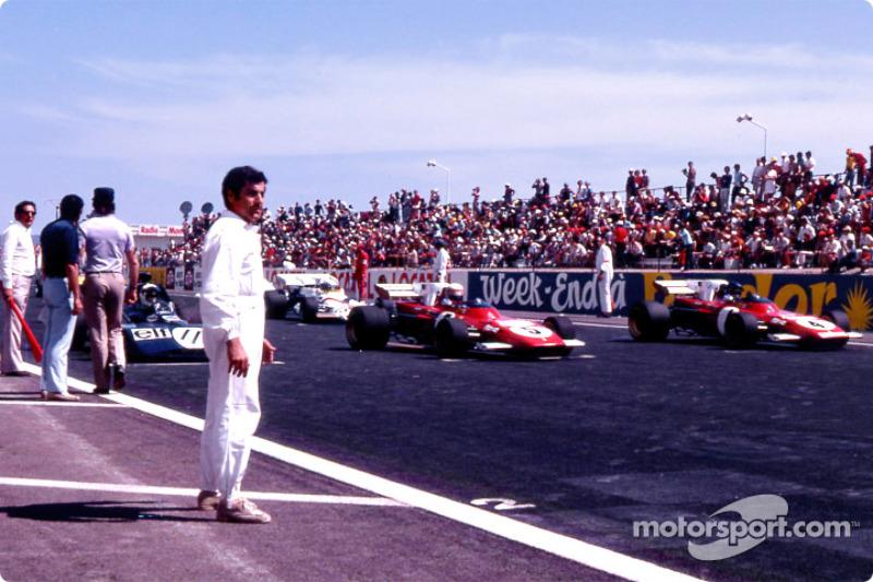 On pole: Jackie Stewart