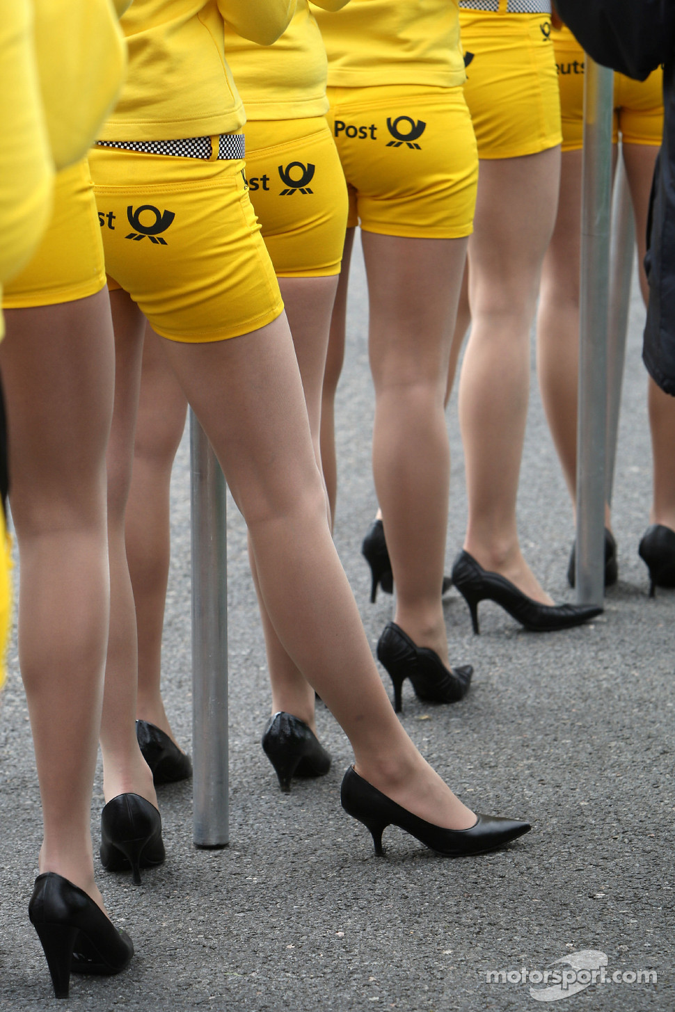 Deutsche Post grid girls