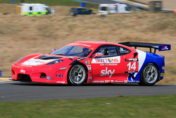 GT3 CR Scuderia Ferrari 430 at John R Weir Chicane