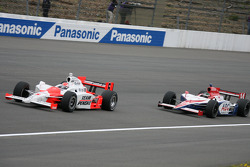 Ryan Briscoe and Darren Manning