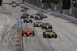 Champ Car race start
