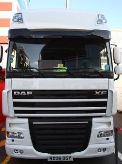 Super Aguri truck