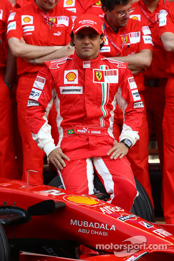 Ferrari photoshoot: Felipe Massa