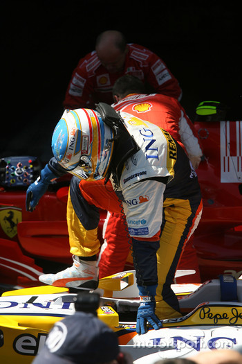 Fernando Alonso, second fastest qualifier