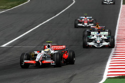 Giancarlo Fisichella, Force India F1 Team, Jenson Button, Honda Racing F1 Team