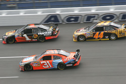 Martin Truex Jr., Jeff Burton and David Reutimann