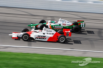 Ryan Briscoe and Tony Kanaan