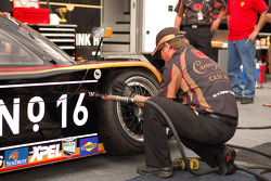 Cheever Racing technician at work