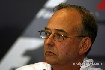 FIA press conference: John Howett, Toyota Racing, President TMG
