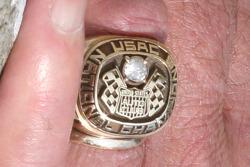 Aldo Andretti's USAC Championship Ring