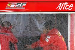 Scuderia Ferrari engineer