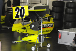 Ed Carpenter's front and rear wing