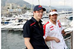 Sébastien Bourdais, Scuderia Toro Rosso and Sébastien Loeb, Citroen World Rally Driver