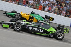 Ernesto Viso passes Will Power