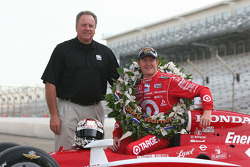Brian Barnhart and Scott Dixon