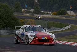 #127 Honda S2000: Markus Fugel, Steve Kirsch, Ruben Zeltner, Uwe Wächtler