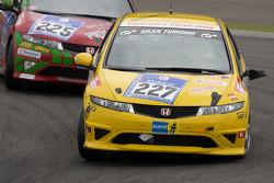#227 Honda Civic Type R: Frank Kuhlmann, Dino Drössiger, Spencer Trenery