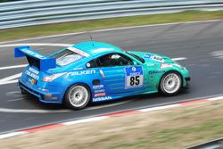 #85 Falken Motorsports Nissan Z33: Peter Dumbreck;Dirk Schoysman;Tetsuya Tanaka;Kazuki Hoshino