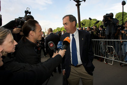 FIA deleguates enter the FIA Place de la Concorde headquarters: Robert Darbelnet, President of the American Automobile Association