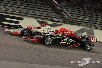 Bruno Junqueira and Helio Castroneves