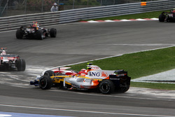 Nelson A. Piquet, Renault F1 Team, Timo Glock, Toyota F1 Team