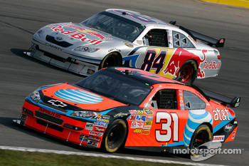 Jeff Burton and A.J. Allmendinger