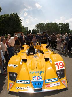 #19 Chamberlain-Synergy Motorsport Lola B06-10 AER enters scrutineering