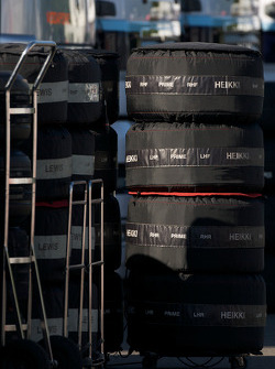 Tires ready to go