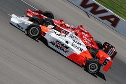 Ryan Briscoe and Dan Wheldon