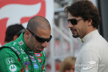Tony Kanaan and Oriol Servia