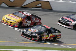 Mike Bliss and Denny Hamlin