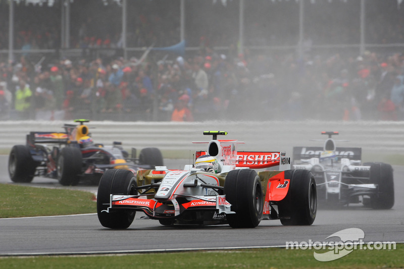 Giancarlo Fisichella, Force India F1 Team, VJM-01