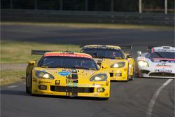 克尔维特车队63号克尔维特C6.R GT1:罗恩·费罗斯、约翰尼·欧康纳、扬·马格努森