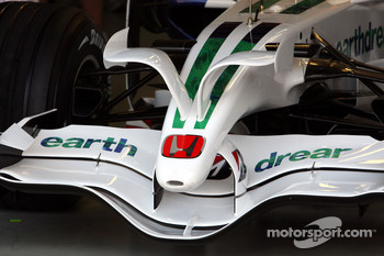 Front Wing of Rubens Barrichello, Honda Racing F1 Team