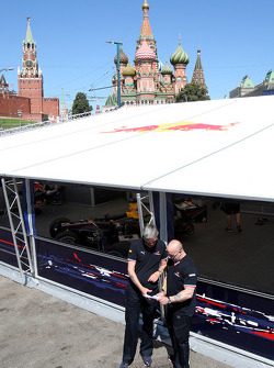 The location at The Red Square