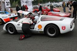 #21 Porsche 906 1966: Daniel Ercamer, Dominique Persyn