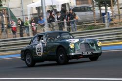 #22 Aston Martin Db2 1952: Tarek Mahmoud, Michel Zaccour