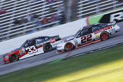 Austin Dillon, Richard Childress Racing Chevrolet and Brad Keselowski, Team Penske Ford