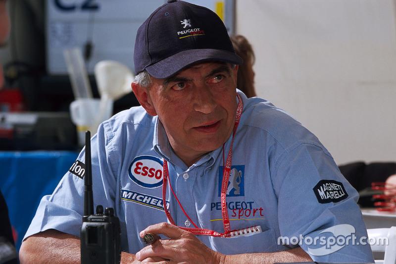Corrado Provera, head of Peugeot Sport
