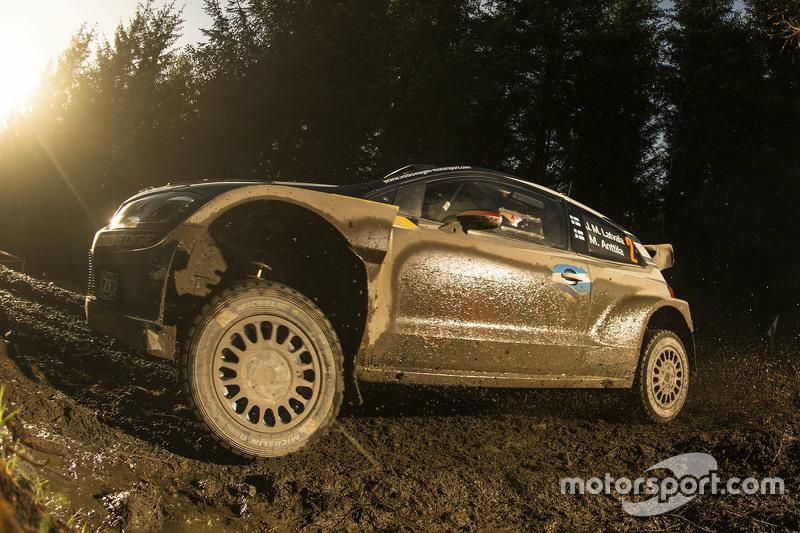 7. Jari-Matti Latvala and Miikka Anttila, Volkswagen Polo WRC, Volkswagen Motorsport