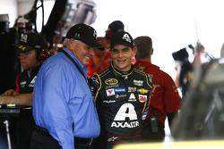 Jeff Gordon, Hendrick Motorsports Chevrolet with Rick Hendrick