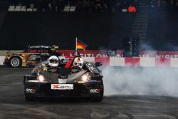 Winner Sebastian Vettel