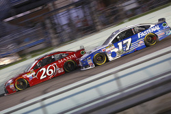 J.J. Yeley, BK Racing Toyota and Ricky Stenhouse Jr., Roush Fenway Racing Ford