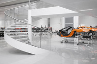 Visit at the McLaren Technology Centre